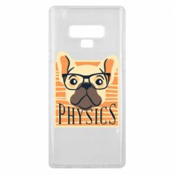 Чехол для Samsung Note 9 Dog Physicist