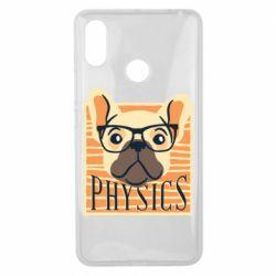 Чехол для Xiaomi Mi Max 3 Dog Physicist