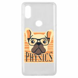 Чехол для Xiaomi Mi Mix 3 Dog Physicist