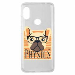 Чехол для Xiaomi Redmi Note 6 Pro Dog Physicist