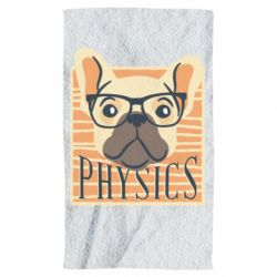 Полотенце Dog Physicist