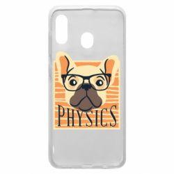 Чехол для Samsung A30 Dog Physicist