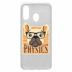 Чехол для Samsung A40 Dog Physicist