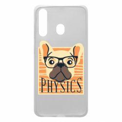 Чехол для Samsung A60 Dog Physicist