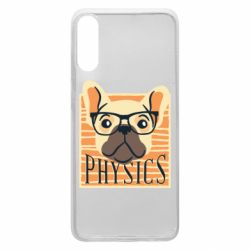 Чехол для Samsung A70 Dog Physicist