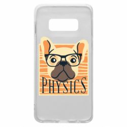 Чехол для Samsung S10e Dog Physicist