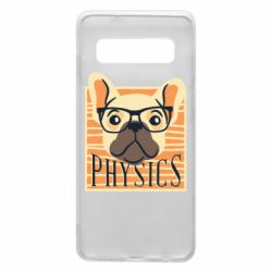 Чехол для Samsung S10 Dog Physicist