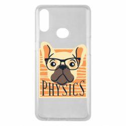 Чехол для Samsung A10s Dog Physicist
