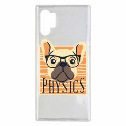 Чехол для Samsung Note 10 Plus Dog Physicist