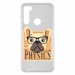 Чехол для Xiaomi Redmi Note 8 Dog Physicist