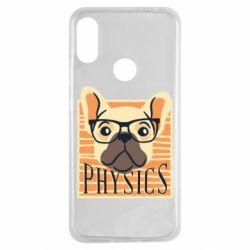 Чехол для Xiaomi Redmi Note 7 Dog Physicist