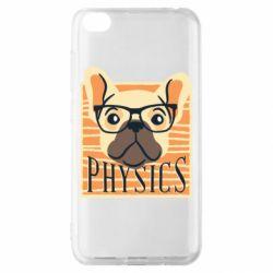 Чехол для Xiaomi Redmi Go Dog Physicist