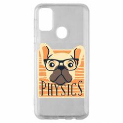 Чехол для Samsung M30s Dog Physicist