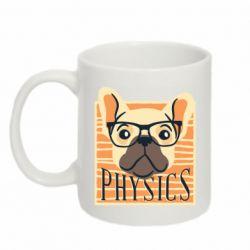 Кружка 320ml Dog Physicist