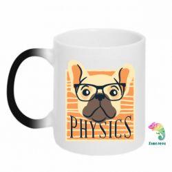 Кружка-хамелеон Dog Physicist