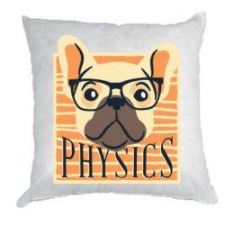 Подушка Dog Physicist