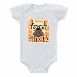 Детский бодик Dog Physicist