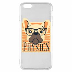 Чехол для iPhone 6 Plus/6S Plus Dog Physicist