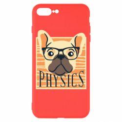 Чехол для iPhone 7 Plus Dog Physicist