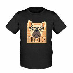 Детская футболка Dog Physicist