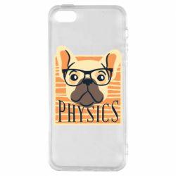 Чехол для iPhone5/5S/SE Dog Physicist
