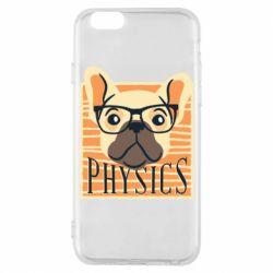 Чехол для iPhone 6/6S Dog Physicist