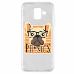 Чехол для Samsung A6 2018 Dog Physicist