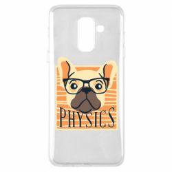 Чехол для Samsung A6+ 2018 Dog Physicist