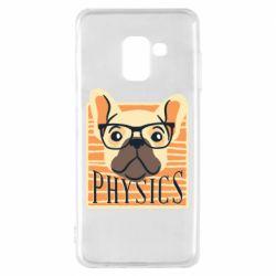 Чехол для Samsung A8 2018 Dog Physicist