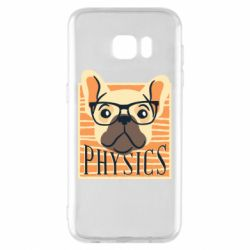 Чехол для Samsung S7 EDGE Dog Physicist