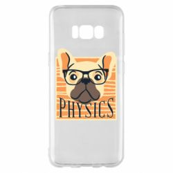 Чехол для Samsung S8+ Dog Physicist