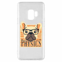 Чехол для Samsung S9 Dog Physicist