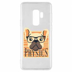 Чехол для Samsung S9+ Dog Physicist