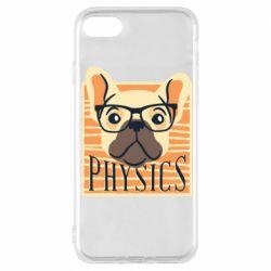 Чехол для iPhone 8 Dog Physicist