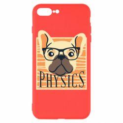Чехол для iPhone 8 Plus Dog Physicist