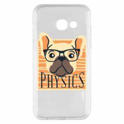 Чехол для Samsung A3 2017 Dog Physicist