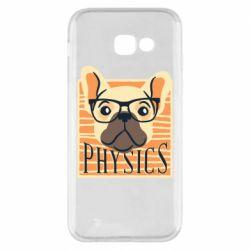 Чехол для Samsung A5 2017 Dog Physicist