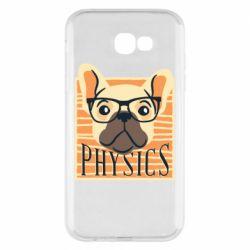 Чехол для Samsung A7 2017 Dog Physicist