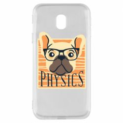 Чехол для Samsung J3 2017 Dog Physicist