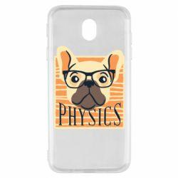 Чехол для Samsung J7 2017 Dog Physicist