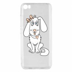 Чехол для Xiaomi Mi5/Mi5 Pro Dog with a bow