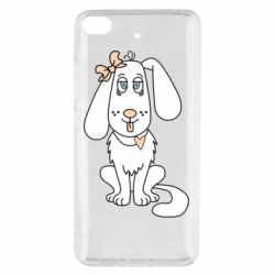 Чехол для Xiaomi Mi 5s Dog with a bow