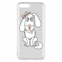 Чехол для Xiaomi Mi6 Dog with a bow