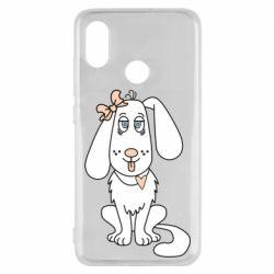 Чехол для Xiaomi Mi8 Dog with a bow