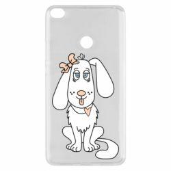 Чехол для Xiaomi Mi Max 2 Dog with a bow