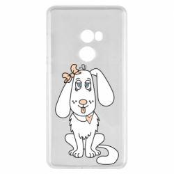Чехол для Xiaomi Mi Mix 2 Dog with a bow