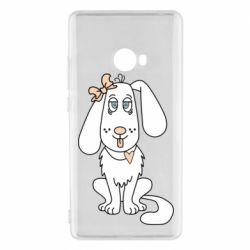 Чехол для Xiaomi Mi Note 2 Dog with a bow
