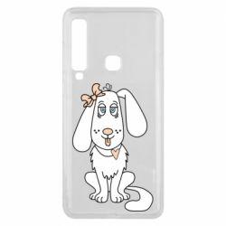 Чехол для Samsung A9 2018 Dog with a bow
