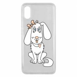 Чехол для Xiaomi Mi8 Pro Dog with a bow