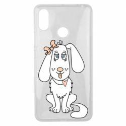 Чехол для Xiaomi Mi Max 3 Dog with a bow
